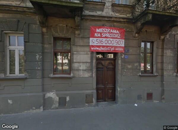 Ceny mieszkań Kraków Józefa Dietla 17
